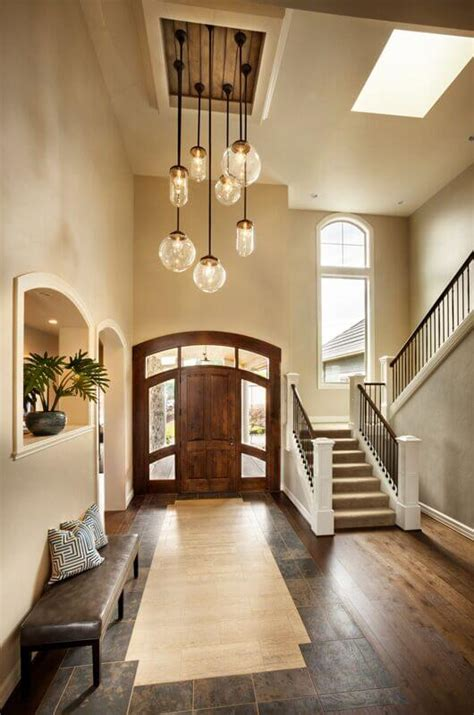 american home design inside 23 elegant foyers with spectacular chandeliers images