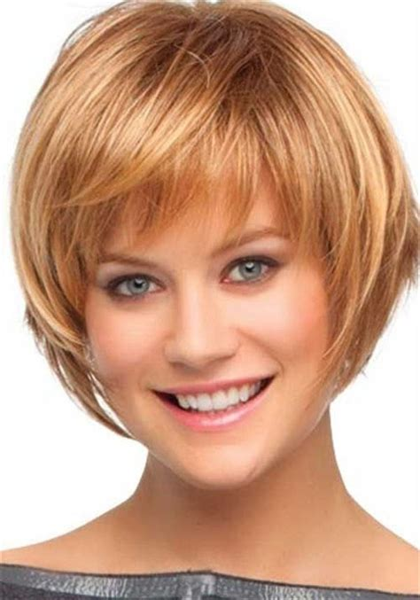 thin face shape and thick hair things to consider for short bob haircuts cute