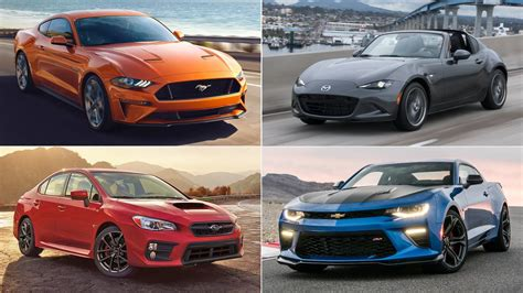 cheap 4 door sports cars the best cheap sports cars of 2017 the drive