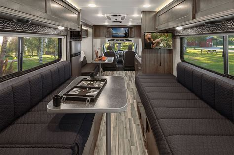 Winnebago Via Floor Plans ford transit based class c motorhomes debut