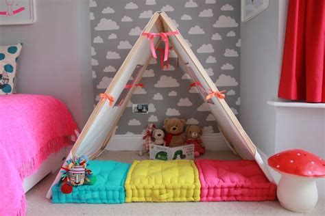 How To Build A Den In Your Bedroom by Grey And White Neon And Bright