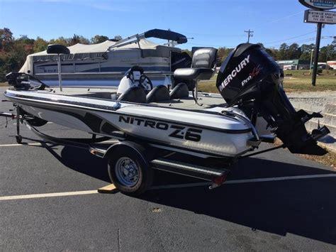 nitro z6 bass boats for sale 2012 used nitro z6 bass boat for sale 16 495