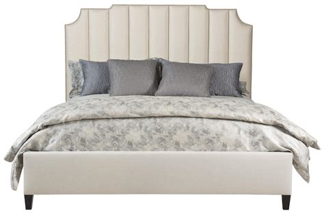 upholstered bed with footboard upholstered bed low footboard bernhardt