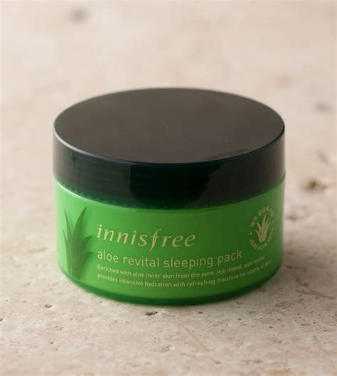 Harga Innisfree Aloe Revital Sleeping Pack skin care aloe revital sleeping pack innisfree
