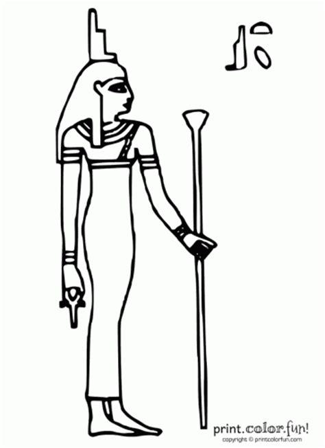 printable egyptian stencils egyptian symbol stencils egyptian goddess isis print