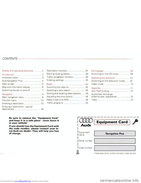 online auto repair manual 2001 audi a8 engine control audi a8 2001 d2 1 g navigation system plus manual