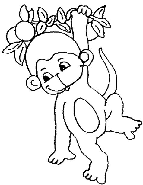 Coloring Pages For Toddlers Coloring Now 187 Blog Archive 187 Monkey Coloring Pages For Kids by Coloring Pages For Toddlers