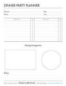 printable dinner menu template 6 best images of free printable dinner menu planner