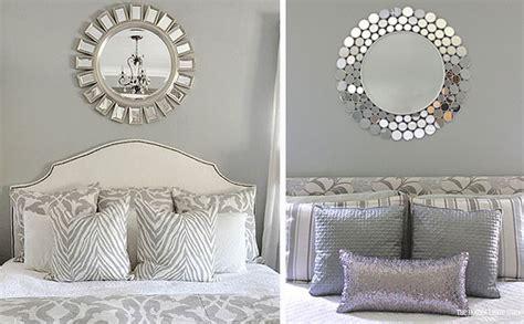 decorar espejos con flores ideas para decorar con espejos en el hogar