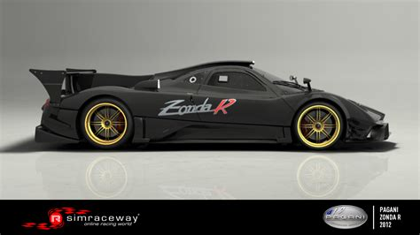 pagani zonda side bsimracing