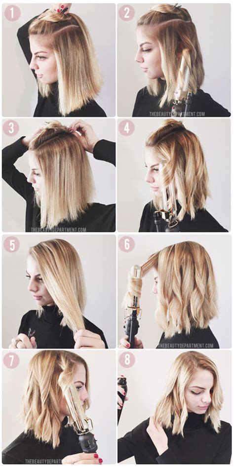 which curlers for lob styling a bob lucy hale lauren conrad kristin ess the