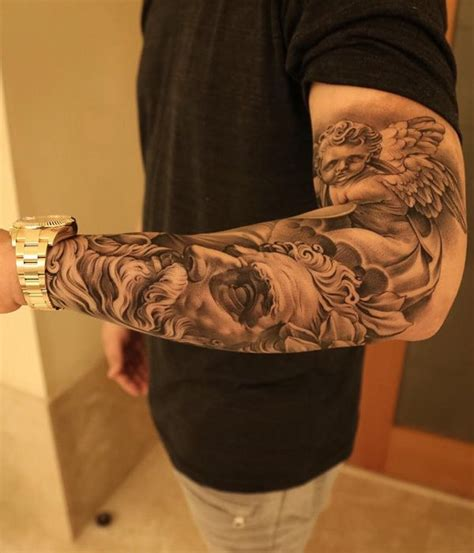 religious sleeve tattoos designs ideas and meaning