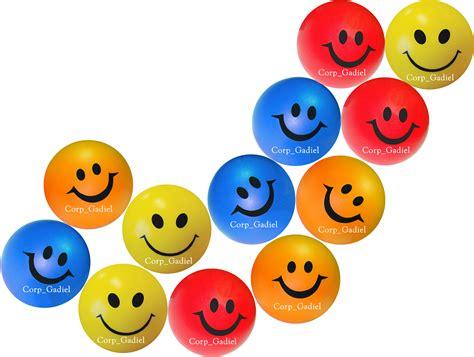 imagenes alegres de colores pelotas antiestress caritas felices prueba