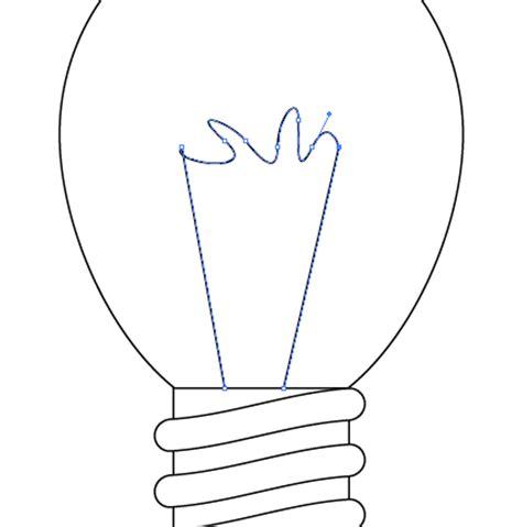 vector light tutorial simple vector light bulb tutorial using illustrator