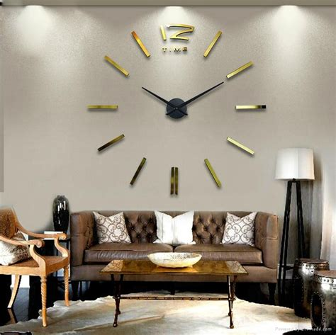 home decor suppliers silver color wall watch for home decor 12s003 g max3