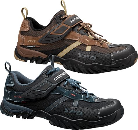 spd shoes wiggle shimano mt42 spd multi purpose cycling shoes