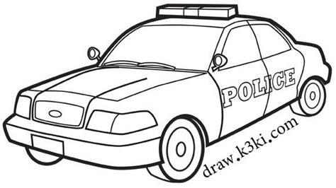 coloring page police cars رسومات سيارات جاهزة للتلوين