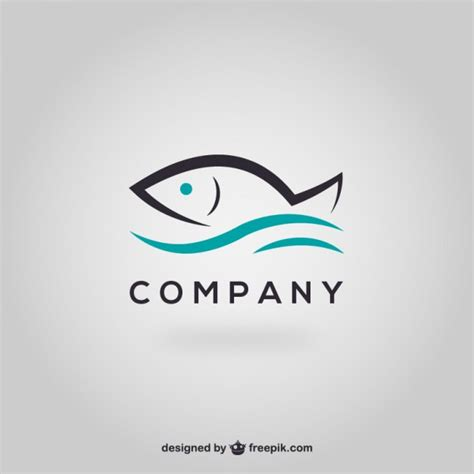 logo templates free word fish logo template vector free