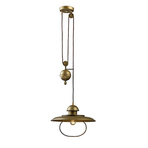 elk lighting farmhouse 1 light pull pendant ceiling