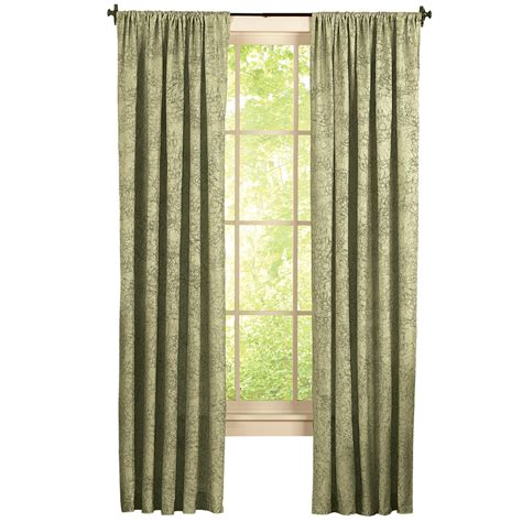 textured curtains crushed taffeta textured curtain panel ebay