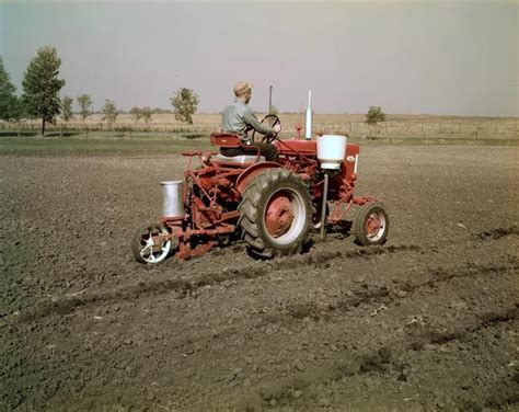 Planter Tractor by Farmall 140 Tractor With Planter Photograph Wisconsin
