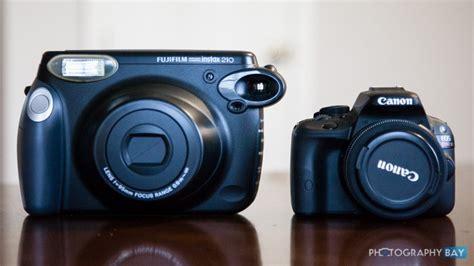 polaroid fujifilm instax 210 fujifilm instax 210 wide format instant review