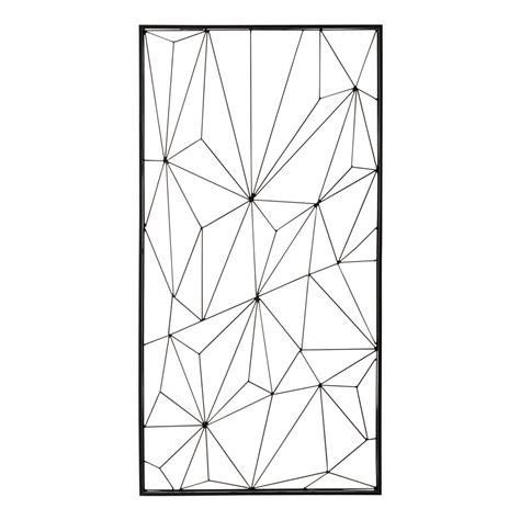 Charmant Maison Du Monde Bureaux #5: deco-murale-en-metal-noire-62-x-121-cm-network-1000-15-37-155140_1.jpg