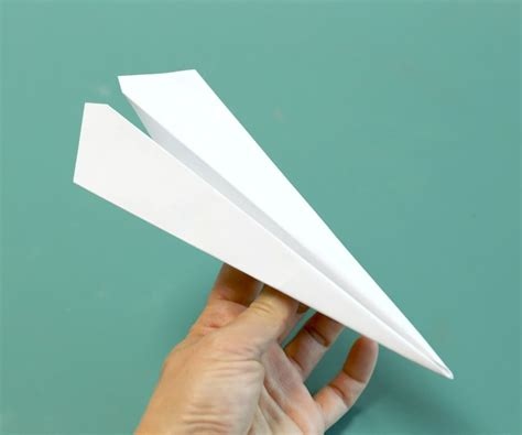 How To Make The Fastest Paper Plane - how to make the fastest paper airplane 8 steps with