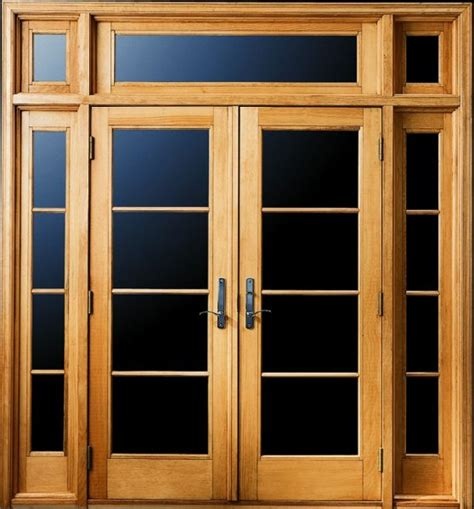 hinged patio doors with sidelights outswing patio doors