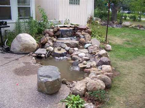 waterfalls ponds gallery waterstone landscaping