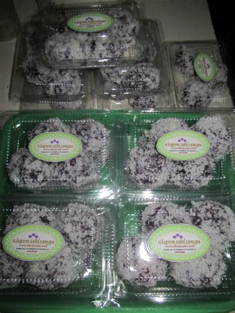 sherly cake klepon ubi ungu