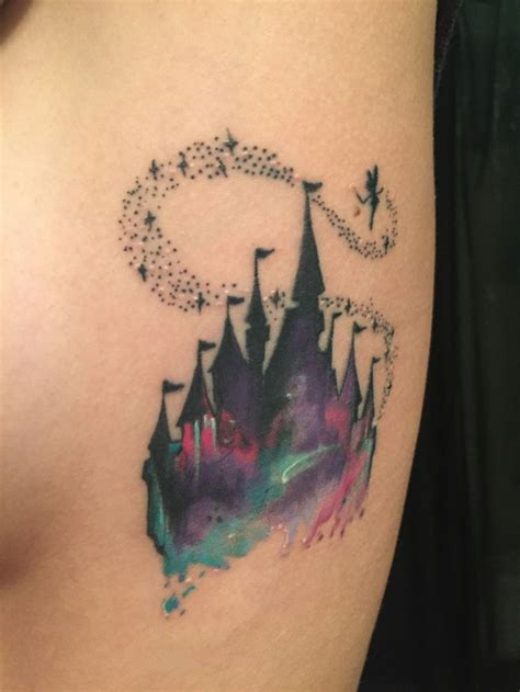 disney world tattoos 17 best ideas about disney castle on