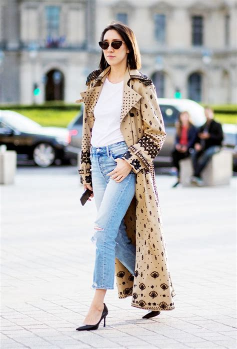 fresh trench coat outfits    fall   wear