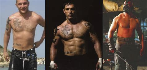tom hardy bane workout routine going from warrior to