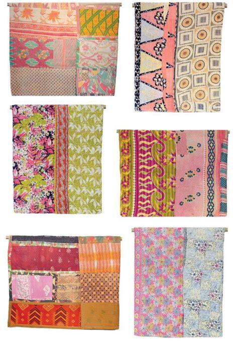 Kantha Quilt How To Make by Kantha Quilt Running Stitch Tutorial
