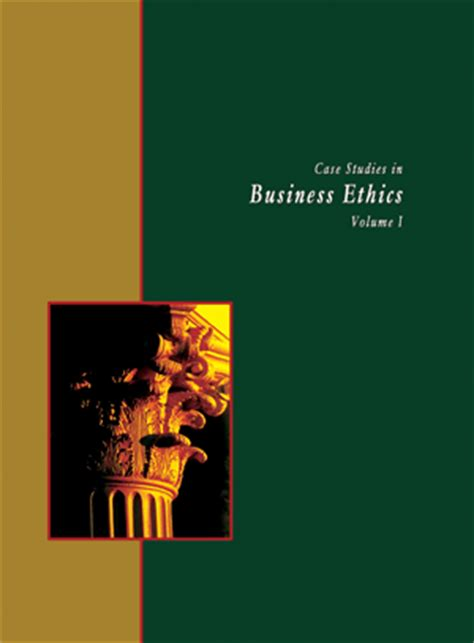Business And Ethics Mba Book by Studies In Business Ethics Vol I Management