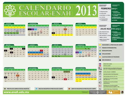 calendario de 2012 finanzas blog etnohistoria enah blog calendario escolar enah 2013