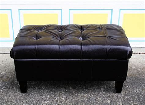 reupholster ottoman yourself the redemption of a bench for the home pinterest