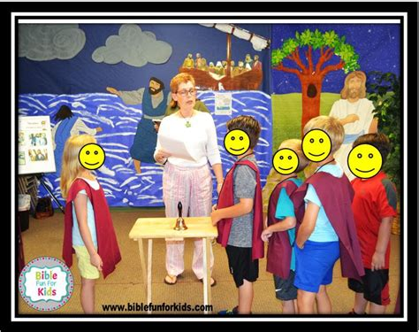 Bible Fun For Kids Vbs Peter S Perseverance Day 4