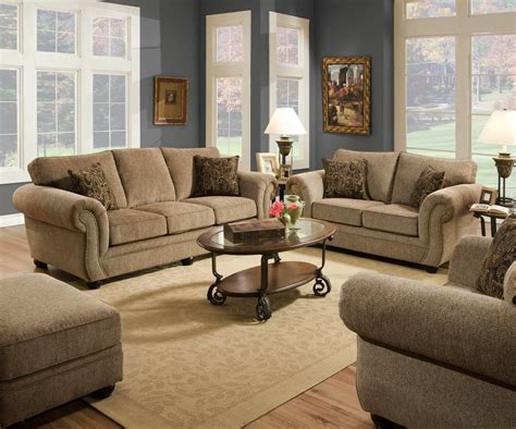 fabric living room sets melody mocha sofa and loveseat fabric living room sets