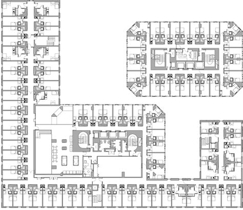 student accommodation floor plans architecture plans for students residence google search