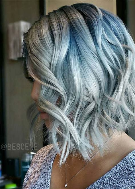 salt and pepper hair with lilac tips 85 silver hair color ideas and tips for dyeing