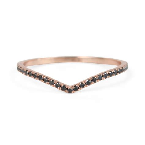 Eternity Band by Catbird Light Eternity Band Curved Black