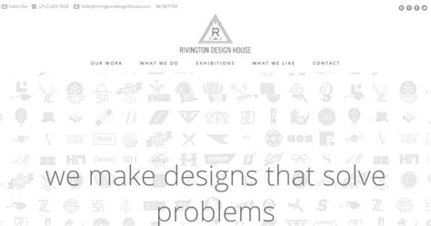 rivington design house rivington design house best print design firms