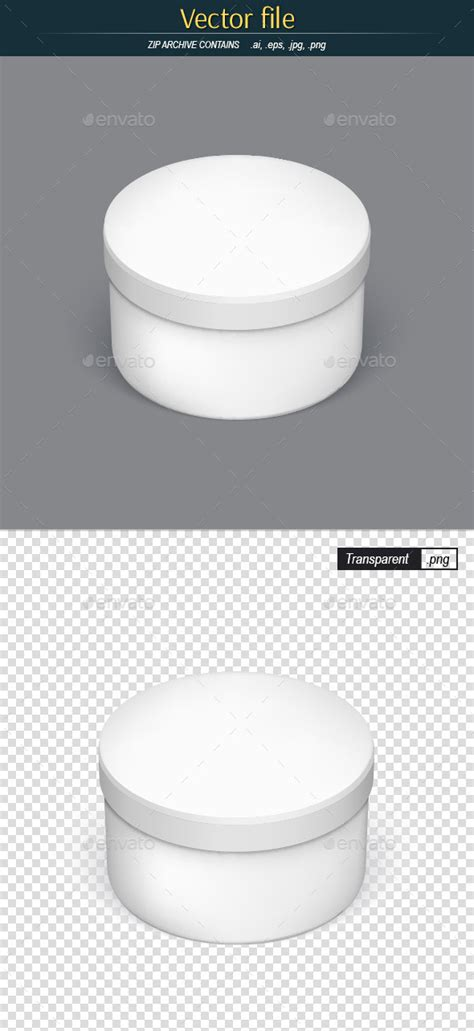 round packaging template for your design by erik svoboda