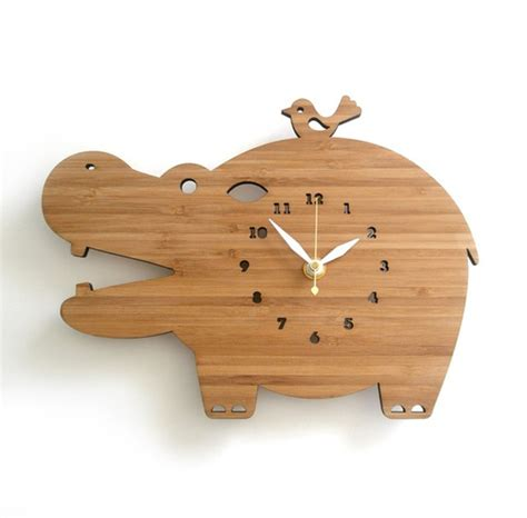 wooden designs wooden clock ideas with animal themed home design and
