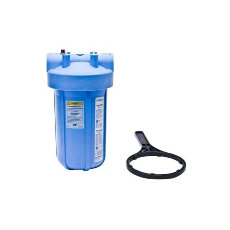 culligan whole house water filter system blue shop your