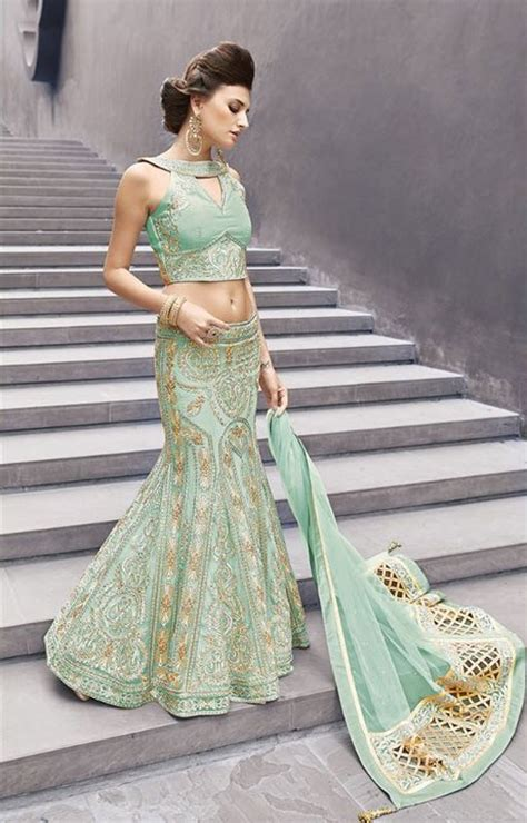 pista color buy pista color georgette party wear lehenga choli 2 in 1