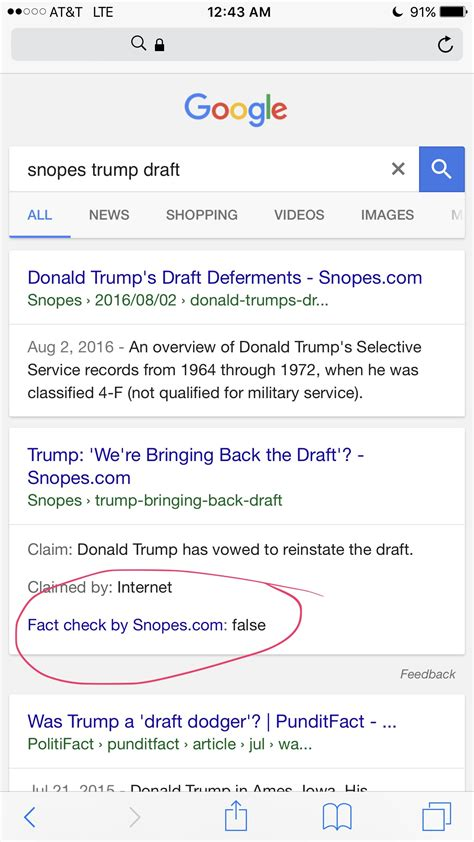 True Search Site Snopes Officially Partners With Snopes Buzzfeed Salon And Wapo To Quot Fact Che