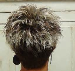 pic of back of spikey hair cuts spikey haircuts with color hairstylegalleries com